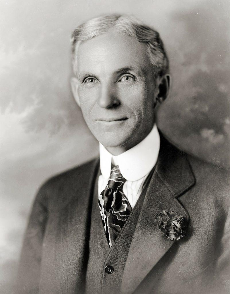 Henry Ford - hat spass gemacht