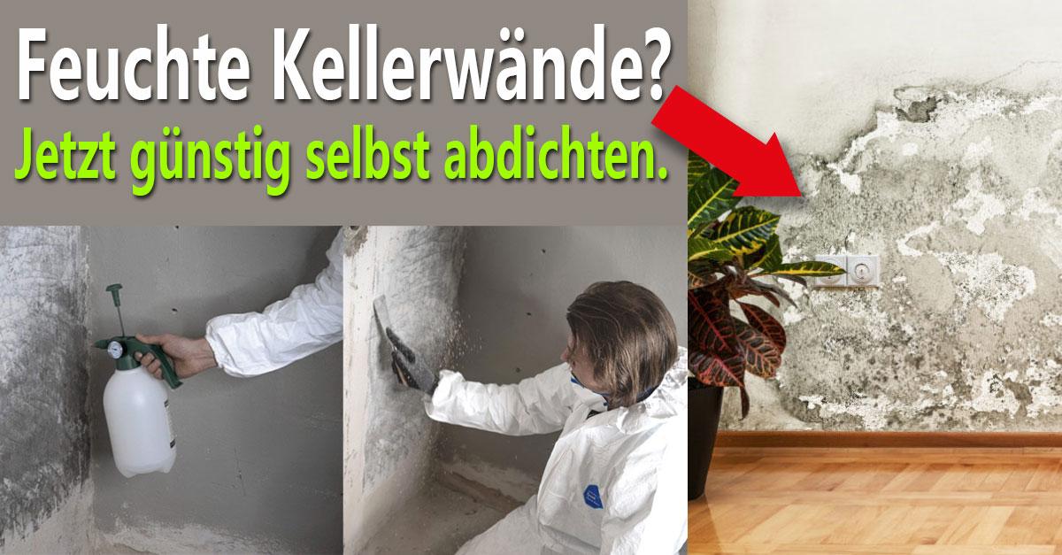 Kellerabdichtung Komplett-Set in nur 3 Schritten